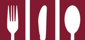 Zentrales Logo in der mitte der Hauptnavigation